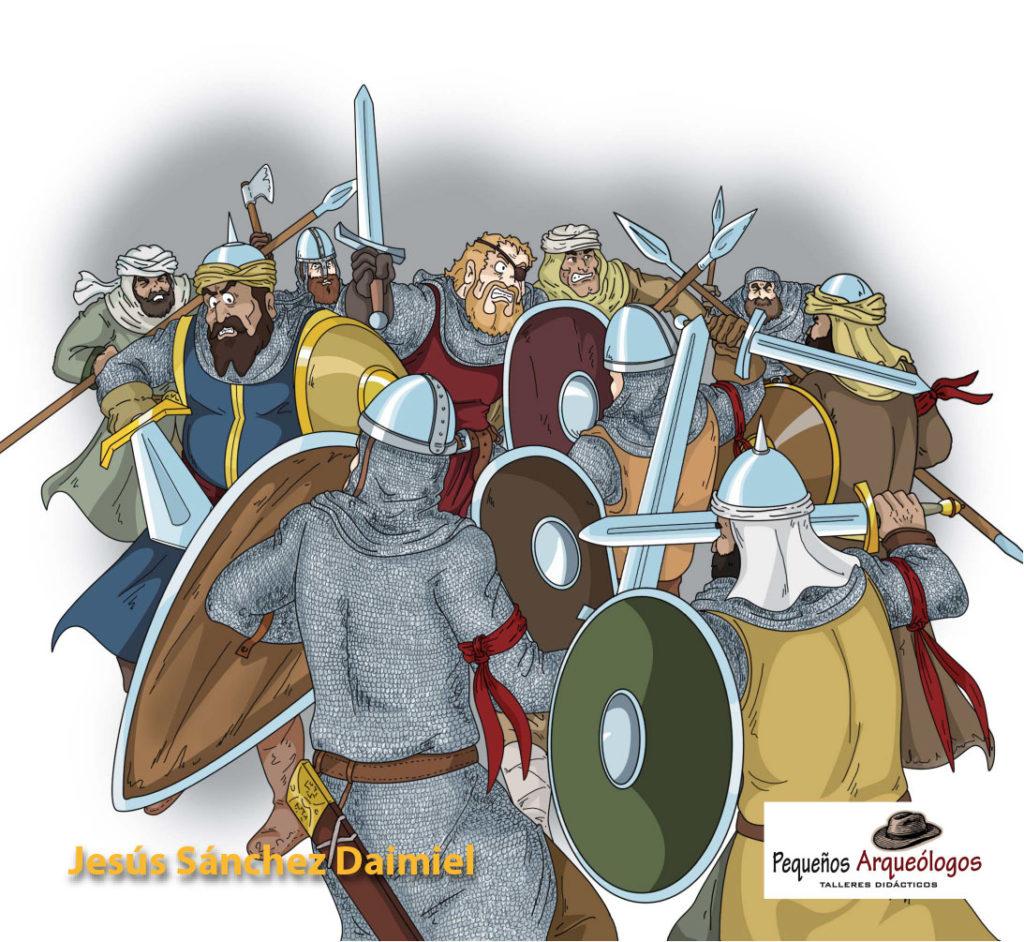 """Ilustración del libro """"Tulaytula. El Reino de los Cielos"""""""