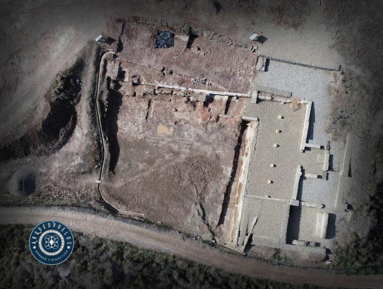 Graccurris, zona excavada